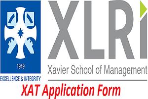 XAT Application Form 2017