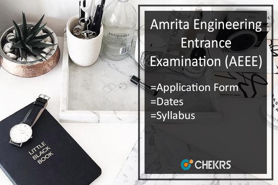 AEEE - Application Form, Dates, Eligibility, Syllabus, Exam Pattern