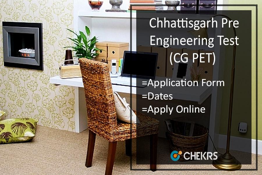 CG PET - Application Form, Important Dates, Eligibility, Syllabus