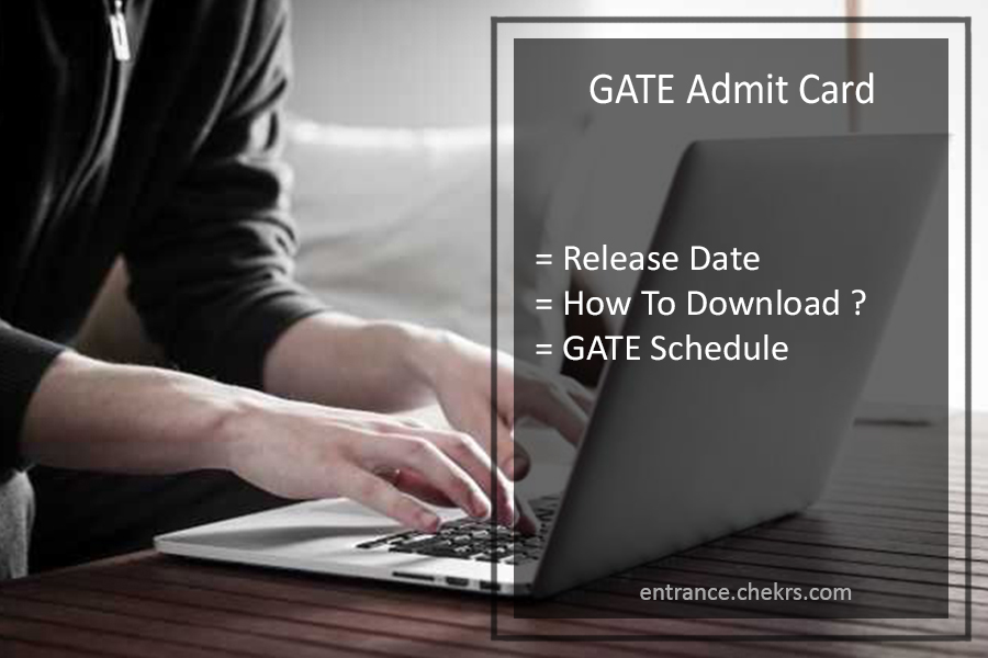 GATE 2020 Admit Card - Check GATE Hall Ticket, Call Letter