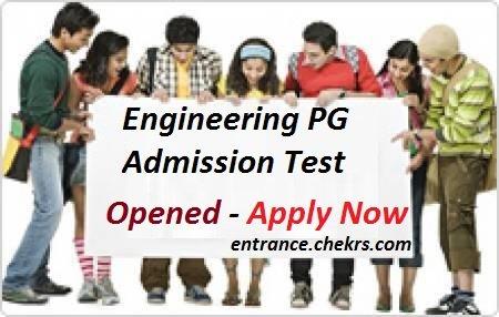 Engineering PG Admission Test