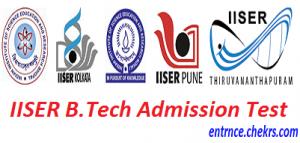 IISER Admission Test 2017