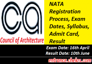 National Aptitude Test in Architecture 2017