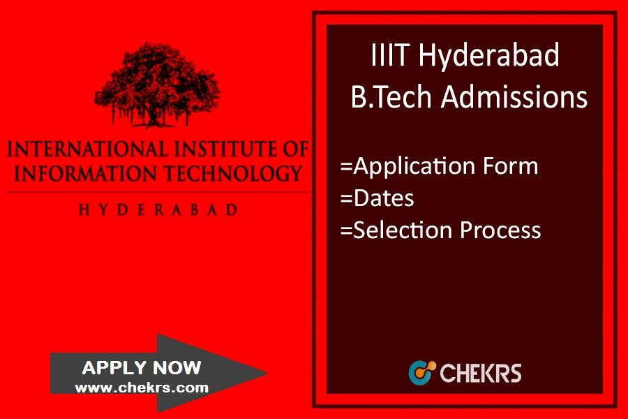 IIIT Hyderabad Admission - Application Form, Dates, Criteria