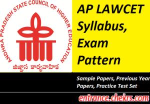 AP LAWCET Syllabus Exam Pattern 2017