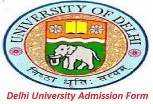 Delhi University Admission Form 2017