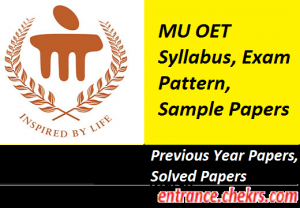 MU OET Syllabus, Exam Pattern 2017
