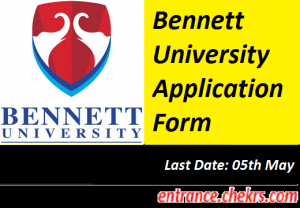 Bennett University Application Form 2017