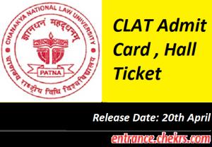 CLAT Admit Card 2017