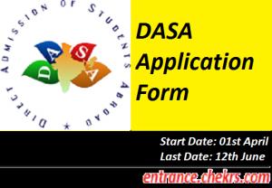 DASA Application Form 2017