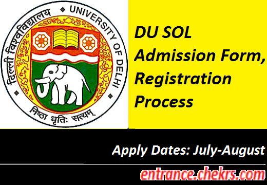 DU SOL Application Form 2017
