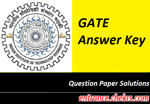 GATE 2017 Answer Key, Question Paper Solution