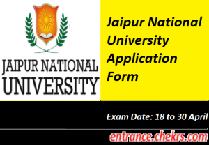 Jaipur National University Application Form 2017