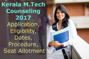 Kerala M. Tech Counselling