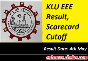 KLU EEE Result 2017