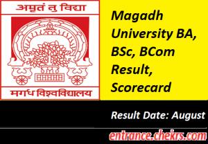 Magadh University Result 2017