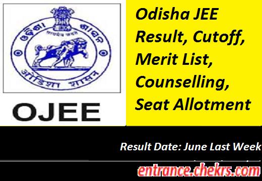 Odisha JEE Result 2017