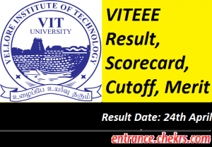 VITEEE Result 2017