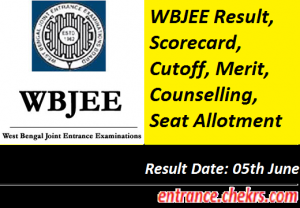 WBJEE Result, Cutoff- Download Rank Card, Merit, Counselling, Seat Allotment