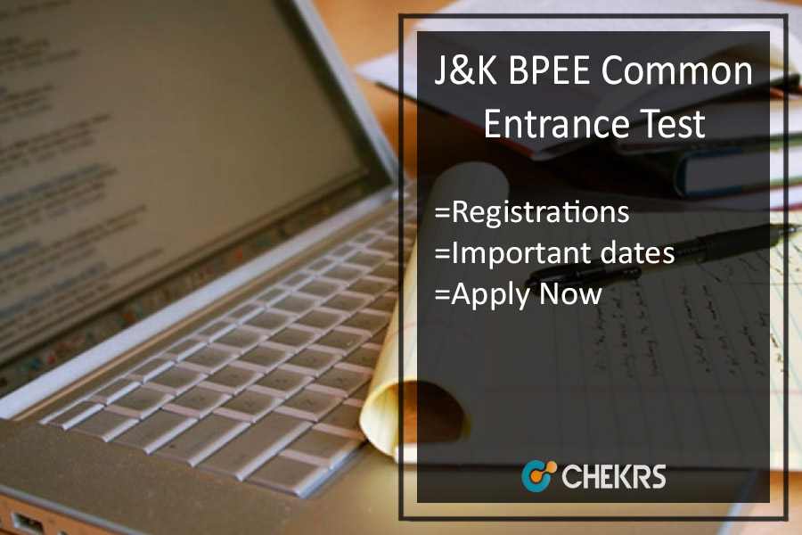 J&K BPEE CET Application, Eligibility, Dates, Syllabus & Exam Pattern