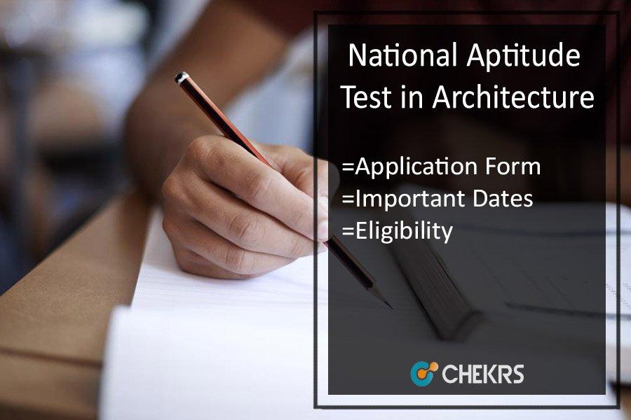 NATA - Application Form, Eligibility, Important Dates, Syllabus