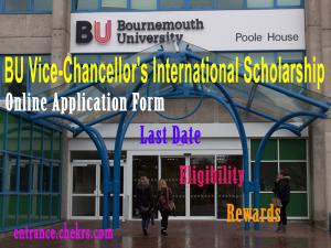 vice chancellor international scholarship