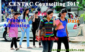CENTAC Counselling schedule