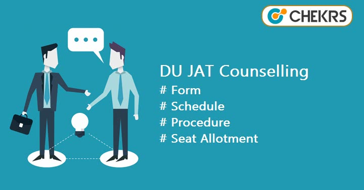 DU JAT Counselling Registration Form Procedure