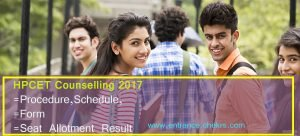 HP CET Counselling