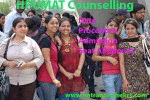 HPUMAT Counselling procedure