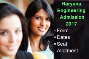 Haryana Engineering Admission