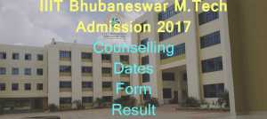 IIIT M.Tech Counselling