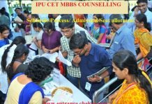 IPU MBBS COUNSELLING schedule