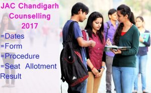 JAC Chandigarh Admission Counselling