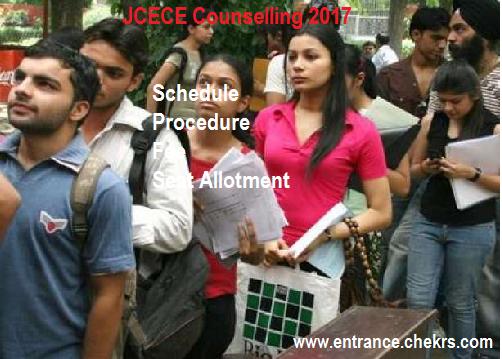 JCECE Counselling procedure