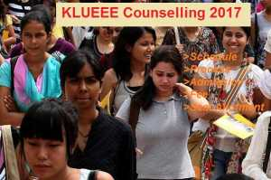 KLUEEE Counselling Schedule