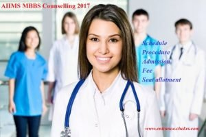 AIIMS MBBS Counselling schedule