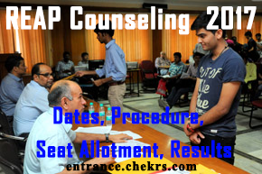 REAP COUNSELLING PROCEDURE