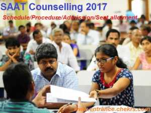 SAAT Counselling Procedure