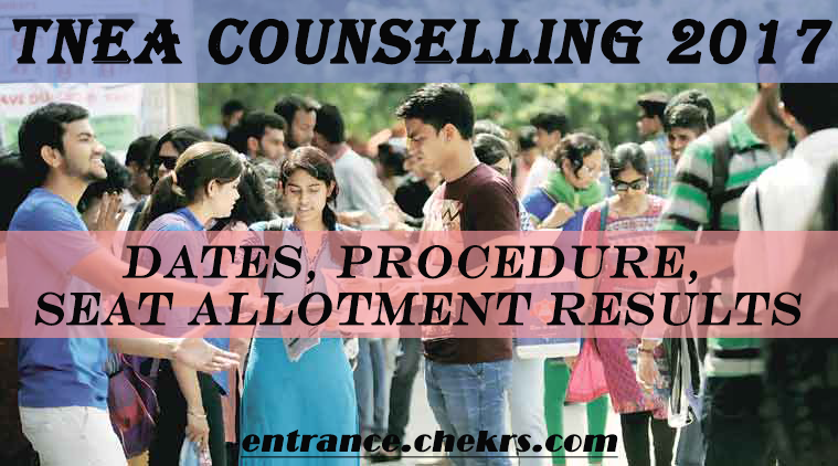 TNEA Counselling procedure