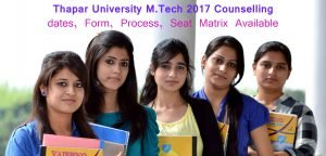 Thapar university admission