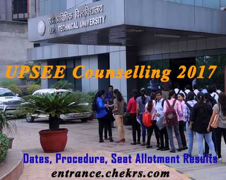 UPSEE COUNSELLING Procedure