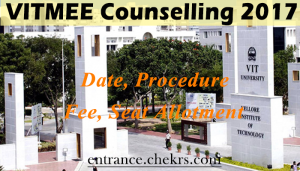 VITMEE COUNSELLING Procedure