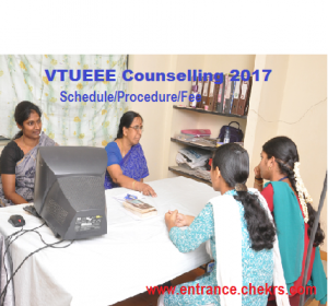 VTUEEE Counselling schedule
