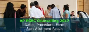 AP PGECET Counselling