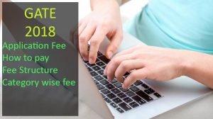 gate application fee