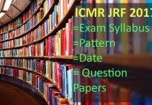 ICMR JRF Syllabus, pattern, Paper