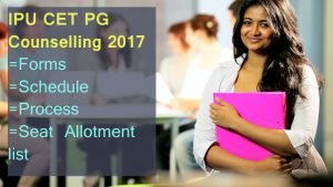 IPU CET PG Counselling