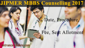 jipmer mbbs counselling schedule