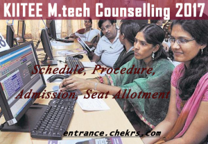 kitee m.tech counselling schedule